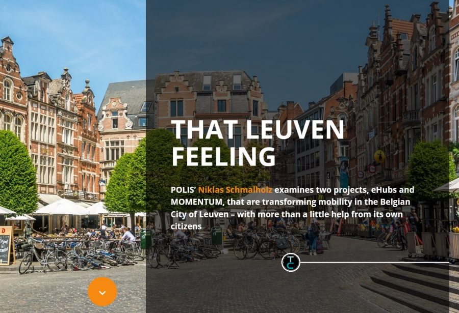 'That Leuven Feeling' – MOMENTUM shares developments in 'Thinking Cities' magazine