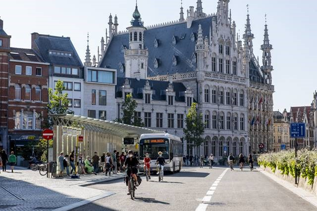 COVID-19 pandemic functioned as catalyst for implementation in Leuven